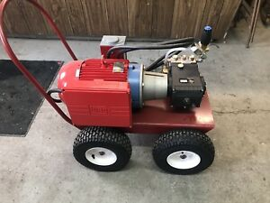 Industrial Pressure Washer Electric 220v 3000psi  PSI 4.8gpm GPM