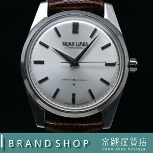 SEIKO LINNER CHRONOMETER 46999 Hand winding 460 1964 Made Watch OH Antique Used