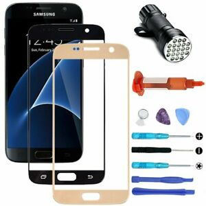 OEM Outer Front Glass Screen Replacement Repair Tools For Samsung Galaxy S7 G930