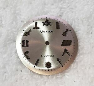 Vintage Masonic Wrist Watches For Sale