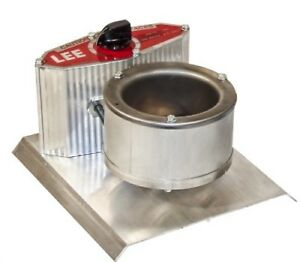 LEE PRECISION 90021 Melter 500w (Grey) 15 minutes to melt 4 pounds of metal