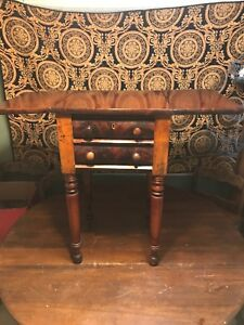 Museum Quality 18th Century Period Wood Table a Piece of Americana - Drop Leaf.