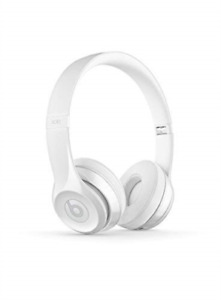 Beats by Dr. Dre Solo3 Wireless On-Ear Headphones - Gloss White NEW