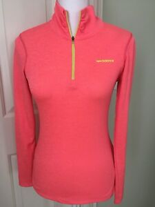 NEW BALANCE WOMENS S YOGA RUNNING FITNESS 12 ZIP SHIRT CUTE COMFORTABLE LS M1
