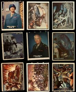 1950 Topps Freedom's War Almost Complete Set GD+
