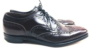 Johnson & Murphy Shoes Black Cherry Men's Dress shoes Designer shoes Vintage 9.5
