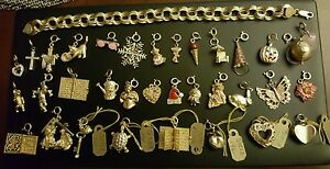 Vintage 14k Gold Charm Bracelet 14k gold Charms.  Individuals charms  $250 each