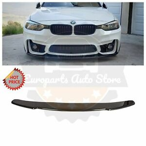 CARBON FIBER FRONT LOWER LIP SPOILER FOR F30 M3 F32 E92 M4 REPLICA FRONT BUMPER
