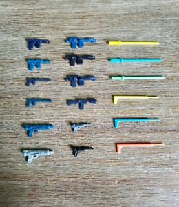 36x Vintage Star Wars action figure replacement Weapons Floating lot wow rare