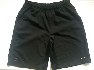 Nike Shorts Boys Large 14-16 Youth Black Athletic Gym Basketball Fit Dry Solid
