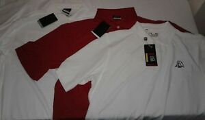 NWT Lot of 3 Men's Golf Polo Shirts Nike Dri-Fit Under Armour Loose Heat Gear XL