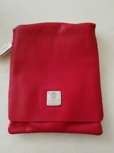 I Medici Firenze Red Italian  Soft Leather Crossbody Handbag Purse NEW