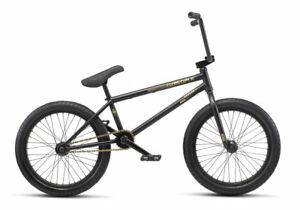WE THE PEOPLE 2019 REASON 20.75 MATTE BLACK COMPLETE BMX BIKE 20.75