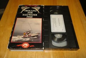 Trolling For Saltwater Fish (VHS) Better Fishing Series - Rare Techniques