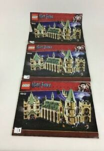 Instruction Manuals Only Lego 4842 Harry Potter Hogwarts Castle Replacement Book