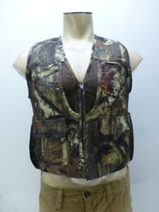 Gamehide YVD breakUp camouflage bird duck pouch hunting VEST jacket youth Medium