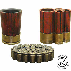 Western Shotgun Shell Bathroom Accessories Cabin Lodge Decor