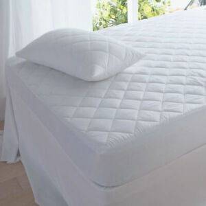 4FT Small Double Beds Quilted Mattress Protector cover or Quilted Pillow cover