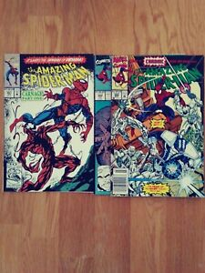 The Amazing Spider-Man #361 with bonus 344 and 360