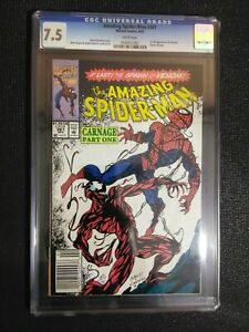 The Amazing Spider-Man #361 first appearance  of CARNAGE CgC. 7.5 Variant
