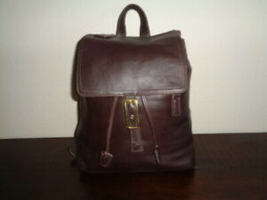 COACH Legacy 9827 ~ Brown LEATHER ~ BACKPACK (Hand Bag Purse)