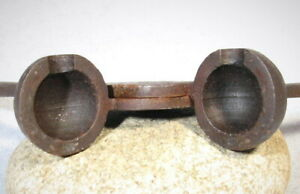 "Bullet Mold for a ""Ships Swivel  Rail Gun  Cannon "" - .88 Caliber"