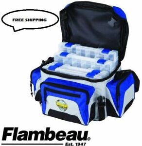 Flambeau 400ZE Fishing Tackle Box Bag Zerust 400 Series Soft Tuff Tainers 6340ZE