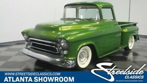1956 Chevrolet Other Pickups Restomod NO EXPENSE SPARED BUILD, MAG COVER TRUCK, 350 ZZ4 V8, 700R4, 4-DISCS, 4-LINK, AC