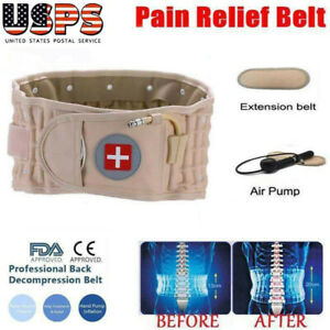 Latest Dr Ho's Decompression Belt Back Brace Lumbar Support&Extender Pain Relief