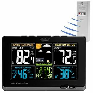 T85647 La Crosse Technology Wireless Color Weather Station with TX141TH BV2