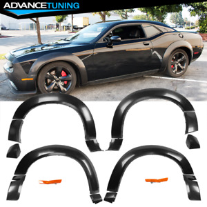 Fits 15-19 Dodge Challenger Hellcat Model Fender Flares Demon Style PP