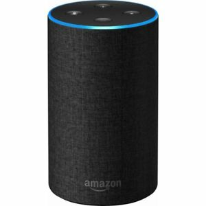 Amazon Echo (2nd Generation) Smart Speaker - Charcoal Fabric