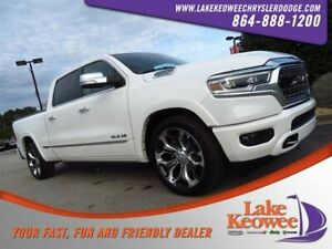 2019 Ram 1500 Limited 2019 Ram 1500 Limited 1 Ivory 3-Coat Crew Cab Pickup Regular Unleaded V-8 5.7 L
