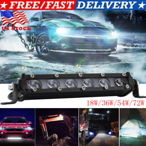 8142026 inch Single Row Slim LED Work Light Bar for Car Off road Truck