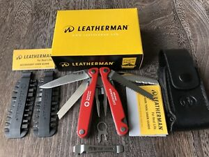 Limited Edition Leatherman Charge American Red Cross; Rare Collectible Multitool