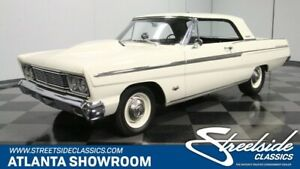 1965 Ford Fairlane 500 GREAT DRIVER CAR JASPER 302 CRATE ENGINE FRONT DISC FRESH PAINT AND INTERIOR!