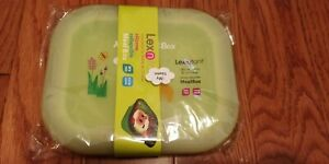 Lexnfant Silicone Collapsible Lunchbox Mealbox for Kids Lunch Container