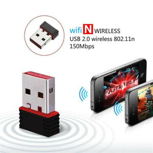 HOT Mini USB WiFi Dongle 802.11 BGN Wireless Network Adapter for Laptop PC