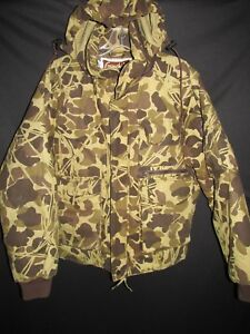 Gamehide Insulated Upland Stalker Hood Cargo Pockets Hunting Jacket Men's Med H2