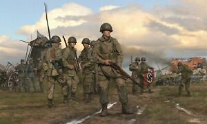 The Spoils of War art print featuring Band of Brothers and Dick Winters $165.00