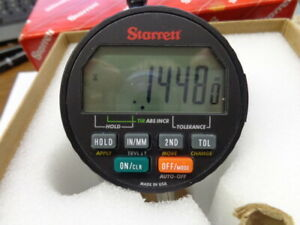 Starrett digital electronic indicator cat# 2720 0m 0 16mm $249.00