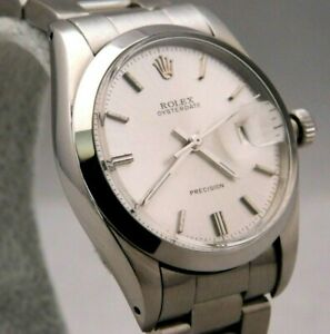Rolex Date Manual Wind Calibre 6694 Vintage 1961 Mens Pre-Owned Watch....34mm