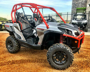 2018 Can-Am® Commander™ XT™ 800R Brushed Aluminum & Can-Am Red