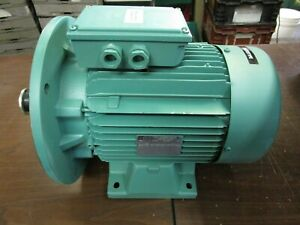 LEROY SOMER LS132S 98138 SPECIAL DESIGNED MOTOR FOR METAL SHEERE -NOS -FREE SHIP