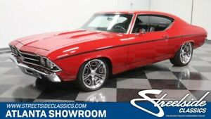 1969 Chevelle Restomod classic vintage chrome chevy ls6 automatic flowmaster pro touring