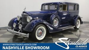 1934 Packard 110 -- INCREDIBLE RESTO BIG BLOCK 454 AWESOME INTERIOR AC 700R4 TRANS AWESOME!