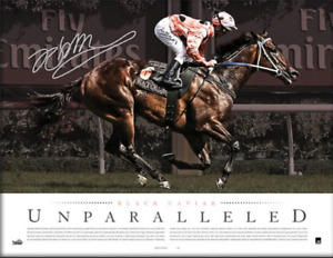 Black Caviar Unparalleled Deluxe Lithograph UNFRAMED - Official Edition