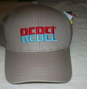 REBEL Lure Fishing Hat Tucker Cap CAP-REB-MB