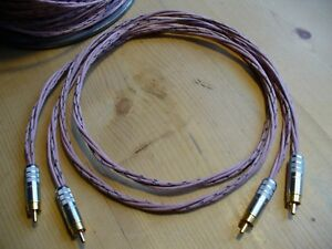 Western Electric KS13385 1M Natural Sounding RCA Interconnect Cables Tube Amps