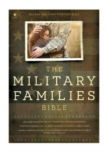 Military Families Bible NavyCrimson Leather Touch (2016 Imitation Leather)